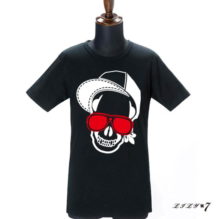 lily7_CapSkull_tshirt